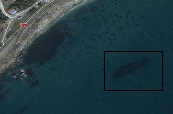 delfin wreck