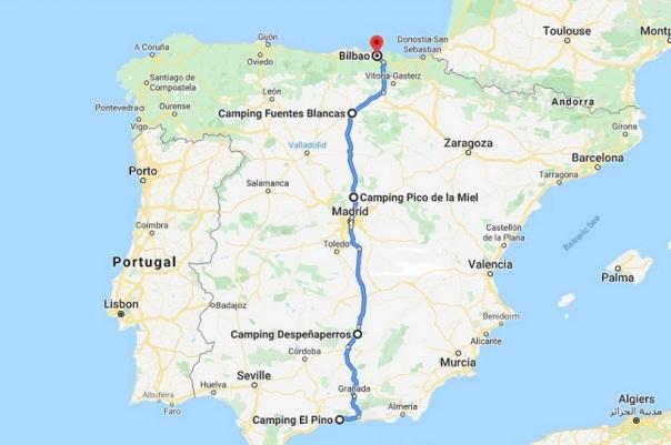 El Pino to Bilbao